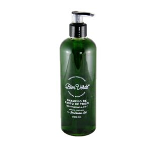 Shampoo Líquido de Pasto de Trigo Bien Verde