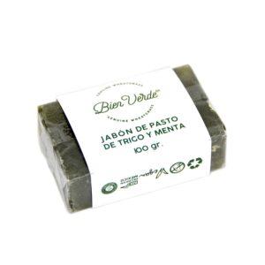 Jabón de Pasto de Trigo y menta Bien Verde