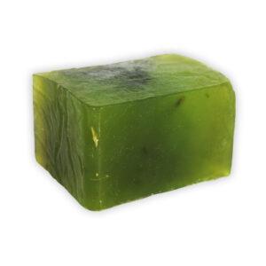 Jabón de barra artesanal Pasto de Trigo Bien Verde